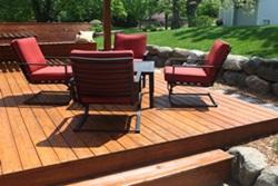 garden deck platform